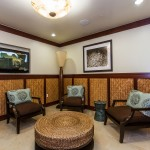 Lounge at Ko Olina Beach Villas fitness center