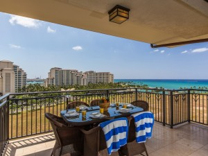 Hale Papakea VIlla<br />  Beach Tower 110 Beachfront Unit<br />  2 bedrooms, 2 bathrooms