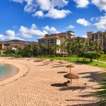 Beachfront resort at the Ko Olina Beach Villas