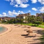 Beachfront resort at the Ko Olina Beach Villas