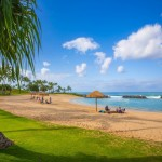 Exclusive Ko Olina beach access at the Beach Villas in Ko Olina