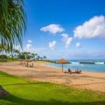 Exclusive Ko Olina beach access at the Beach Villas in Ko Olina