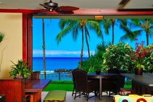 Hale Papakea VIlla Beach Tower 110 Beachfront Unit 2 bedrooms, 2 bathrooms
