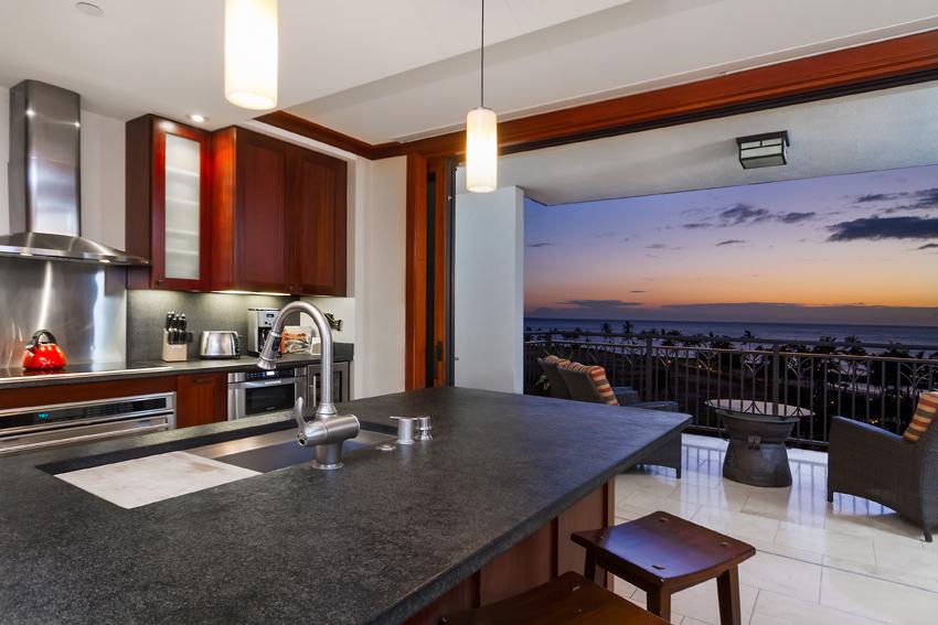 Kitchen twilight MLS