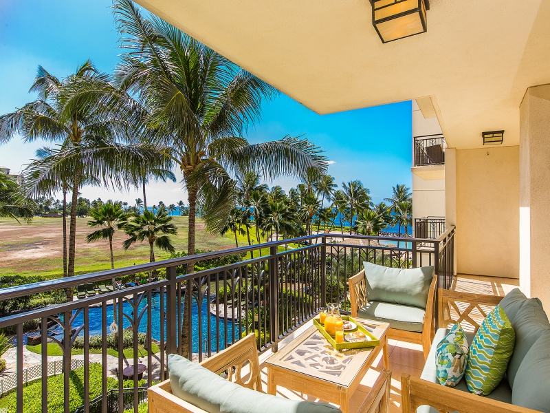 1 1463825 Lanai 800x600 The Newest Addition To Our Love Hawaii Villas Portfolio Of Ko Olina Beach